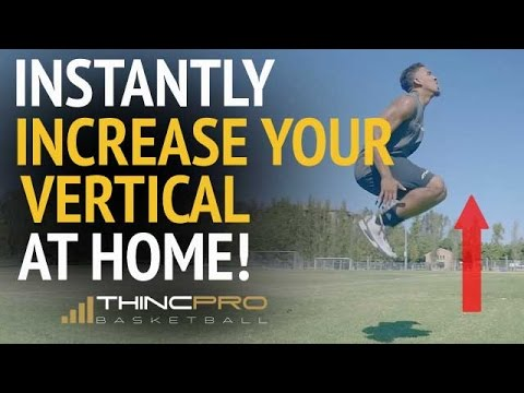How to Increase Your VERTICAL JUMP for Basketball at Home (with No Equipment!) Vertical Jump Tips