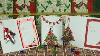 Decoração de Natal – Cartão Pinheirinho por Ateliê Sagitário