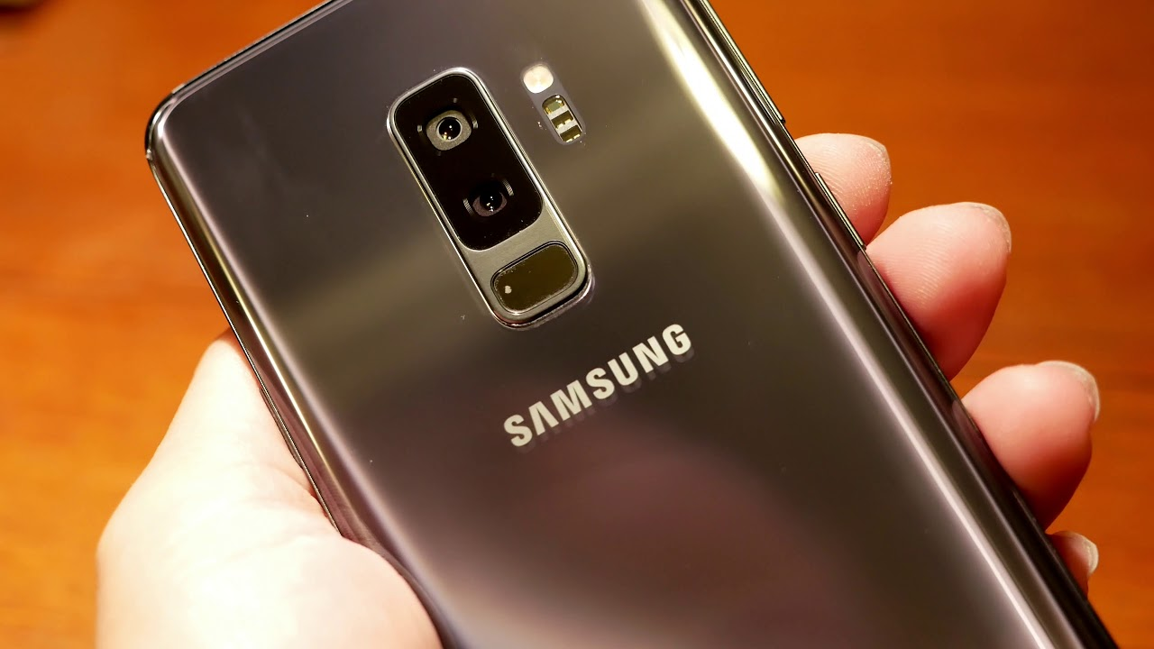 samsung galaxy s9 plus titanium grey 256gb unboxing and close up views youtube. Black Bedroom Furniture Sets. Home Design Ideas