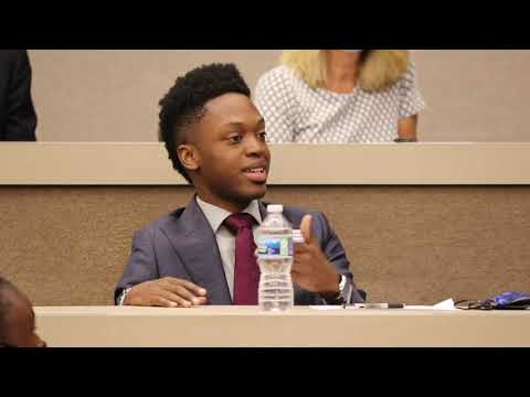 Education Freedom Roundtable: Walter Blanks' Message to Congress