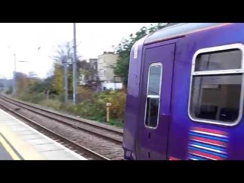 Class 319 Thameslink Departing West Hampstead Thameslink 1/12/14