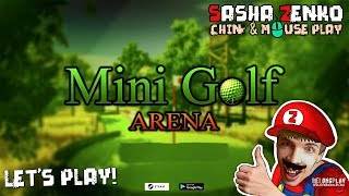 Mini Golf Arena Gameplay (Chin & Mouse Only)