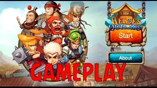 Heroes & Outlaws 2 - a Suikoden inspired RPG tower defense game Gameplay (By Avil Arts) iOS/Android