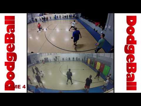 2 Cameras 4 Teams Crazy Dodgeball!   Burlington, VT