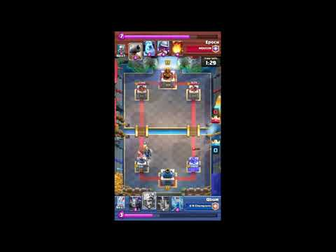 Clash Royale Battle / Qbum - Epoch [08.04.2018][Top #200] from YouTube · Duration:  3 minutes 21 seconds