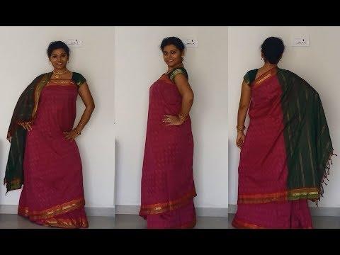 Coorg Saree Drape Authentic Look Of Karnataka The