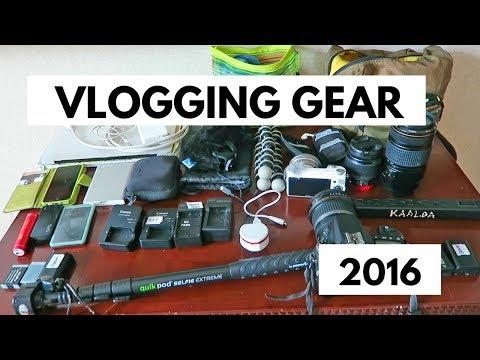 TRAVEL VLOGGING | CAMERA GEAR + EQUIPMENT (Part 1)