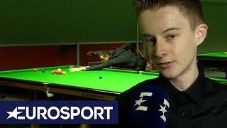 Meet Ryan Davies, the Future of Snooker! | English Open Snooker 2019 | Eurosport
