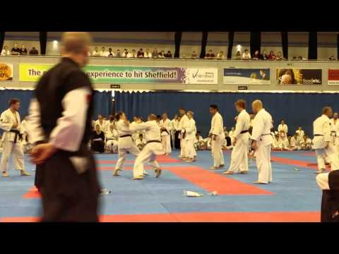 Sensei Rosie Smith gauntlet - Atemi Nationals 2015
