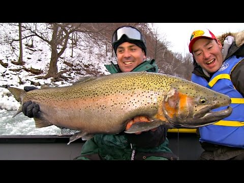 Niagara Steelhead Trout 101 - Uncut Angling - March 12, 2015