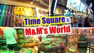 Vlog in New York: Time Square Tonight & M&M