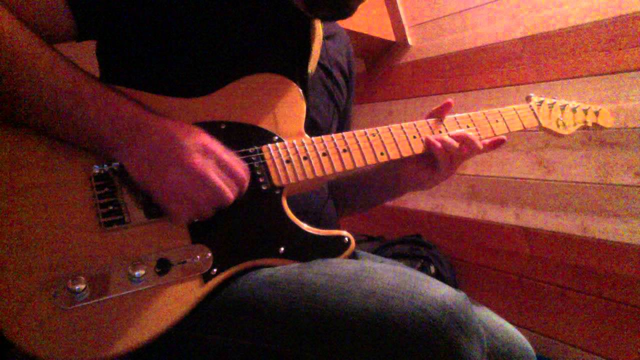 Cover solo Stairway to Heaven + improvisation - G&L Asat (Telecaster) & Vox  Amplug Lead