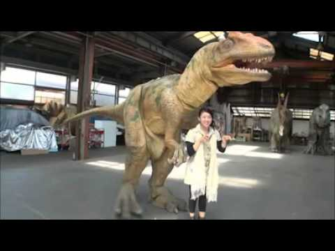 Super Realistic Dinosaur Suit & Super Realistic Dinosaur Suit - YouTube