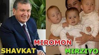 UCH EGIZAK SHAVKAT, MIROMON VA MIRZIYO 1 YOSHGA TO'LDI