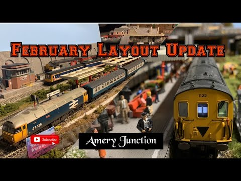 Loft Model Railway - February 2020 Update : Big Changes For The Station