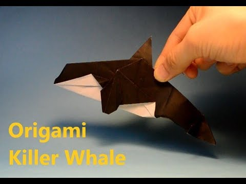 How To Make Origami Orca Killer Whale