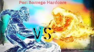 Antorcha Humana vs. Iceman // Super Batallas de Rap - BHR (Prod. Ykato)