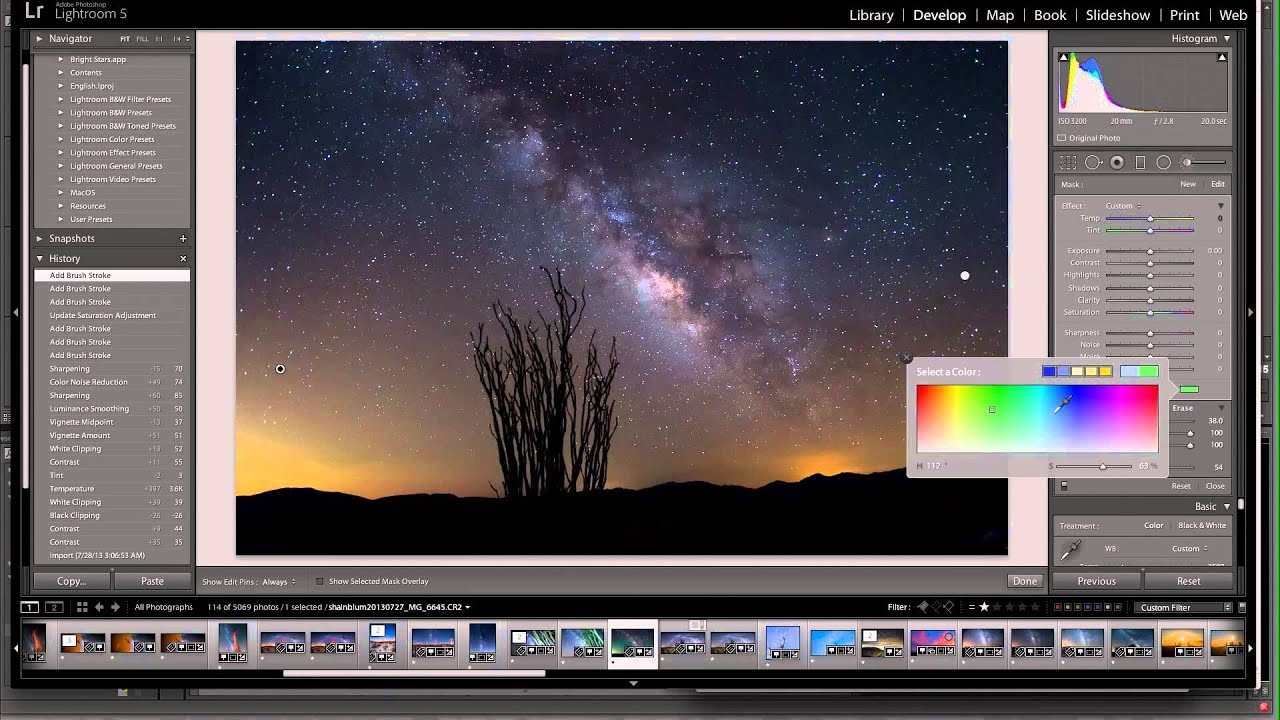 BOOSTING THE MILKYWAY: LIGHTROOM TUTORIAL - YouTube