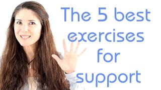 Freya's Singing Tips: The 5 best exercises for support