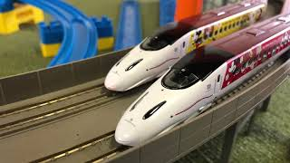 おかげさまで6周年 第32回鉄道もけい展示会 ミッキー&ミニー新幹線 国鉄時代の車両など