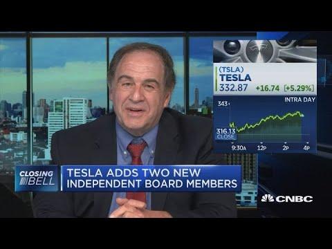 Tesla board pick of Larry Ellison is a clone of CEO Elon Musk, says Jeff Sonnenfeld