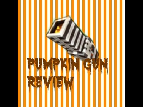 PumpkinGun Weapon Review|Block City Wars