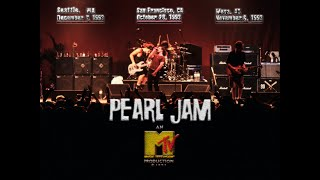 Pearl Jam - 1993 MTV Concert Broadcast (That never was)
