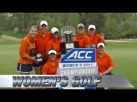 Virginia Wins 2015 ACC Women's Golf Championship - YouTube