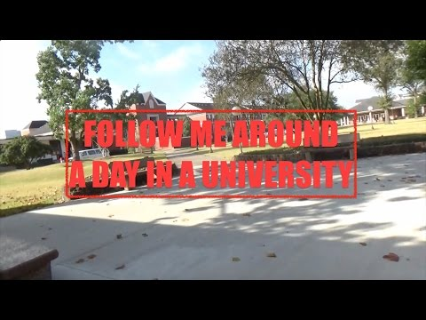 Lamar University- A Day in my Life
