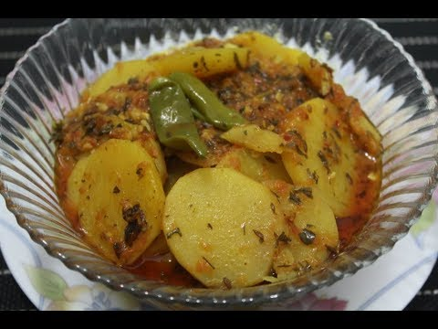 AALOO METHI || potato and fenuegreek leaves