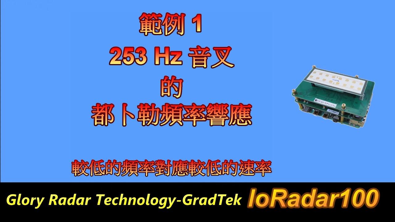 樹莓派 4 ( Raspberry Pi 4 ) 使用 24 GHz 毫米波( mmWave ) IoRadar100 HAT 進行的都卜勒頻率量測展示與 IoT 應用 ( 2019 ) - YouTube
