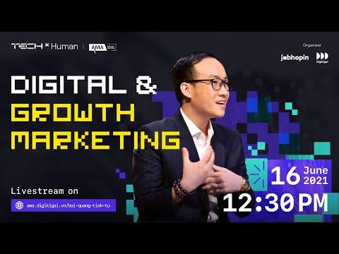 Livestream: Hỏi đáp chuyện ngành Digital & Growth Marketing