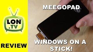 meegopad review a full intel atom bay trail windows 8 pc on a hdmi stick