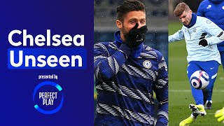 Giroud Suffers Press-Up Forfeit 🤣 Werner at his clinical best | Chelsea Unseen
