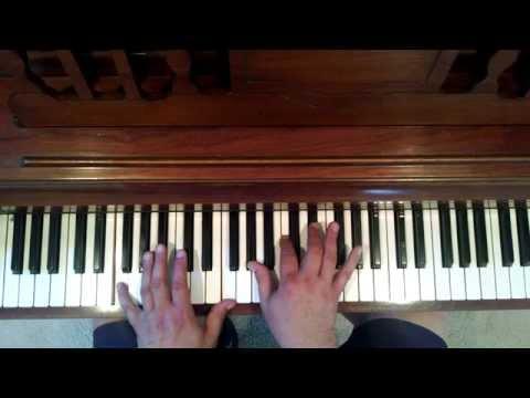 Piano lesson:m7 chord Chorus Line part2