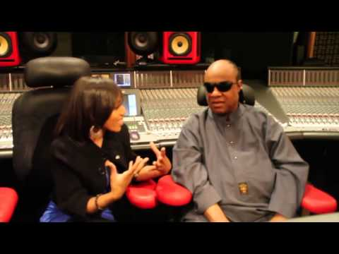 stevie wonder explains how he went blind with Mesha Mcdanial