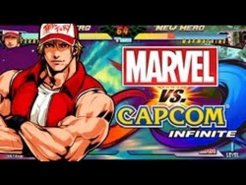 Terry em Marvel vs capcom