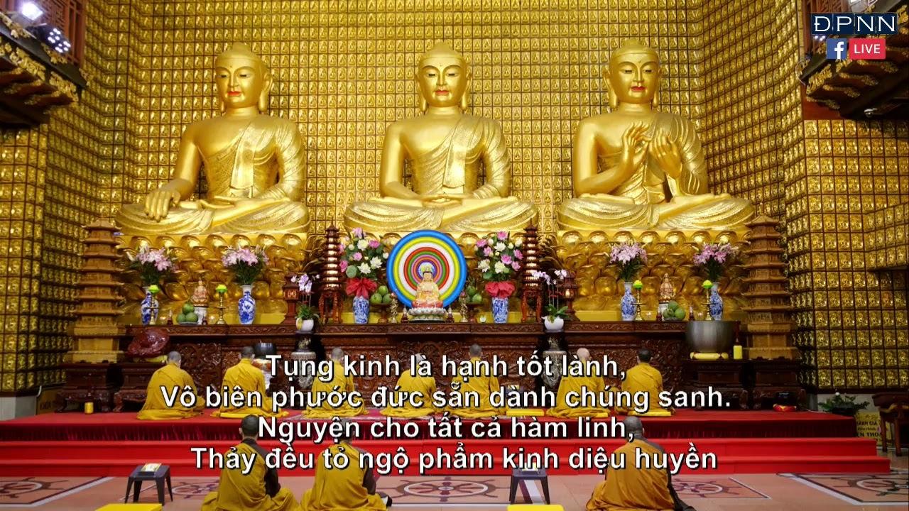 TRỰC TIẾP: Tụng Kinh Phổ Môn tại chùa Giác Ngộ, ngày 04 – 04 – 2020