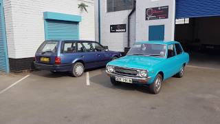 Familia Fortunes: Mazda 1000 and 323 (BF) - A Real Road Test