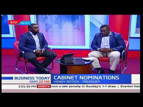 President Uhuru Kenyatta's new cabinet
