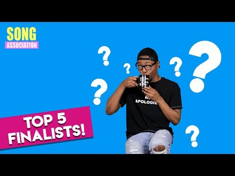 Meet the TOP 5 Song Association Giveaway FINALISTS!