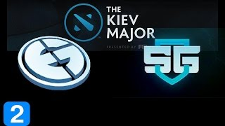 EG vs SG Game 2  Kiev Major Highlights Dota 2