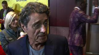 Ian McShane on the American Gods red carpet at SXSW 2017