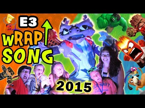 E3 2015 wRAP UP Song! FREE DOWNLOAD SKYLANDERS SUPERCHARGERS, INFINITY, PVZ, JUST DANCE & MORE!