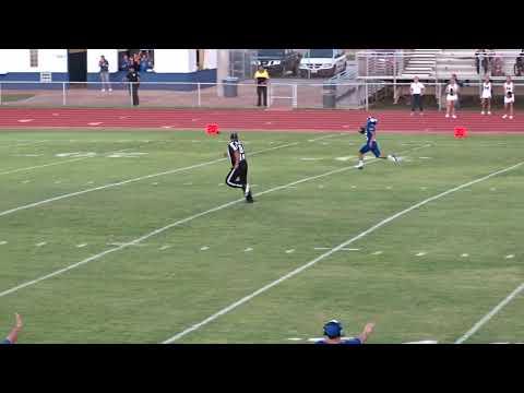 75yd Toucown run by Brayan Medina