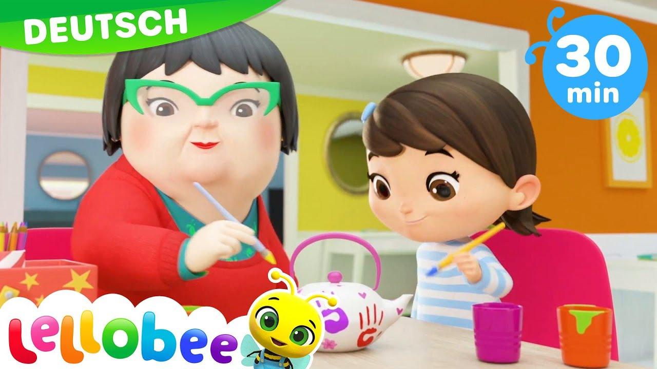 Das Smoothie Farben-Lied | Kinderlieder und Cartoons | Little Baby Bum | Moonbug Kids Deutsch