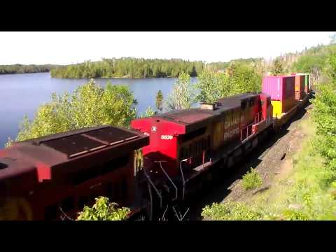Spring Into Summer 2019 ; On The CP Lake Superior Route