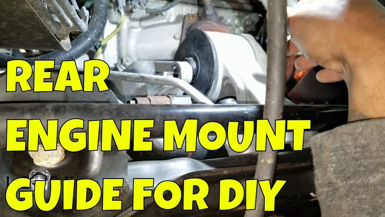 2005-2010 Honda Odyssey Rear Engine Mount Removal Guide ...