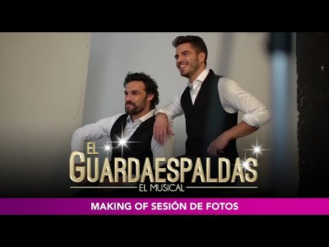 El Guardaespaldas, el musical - Making of sesión de fotos