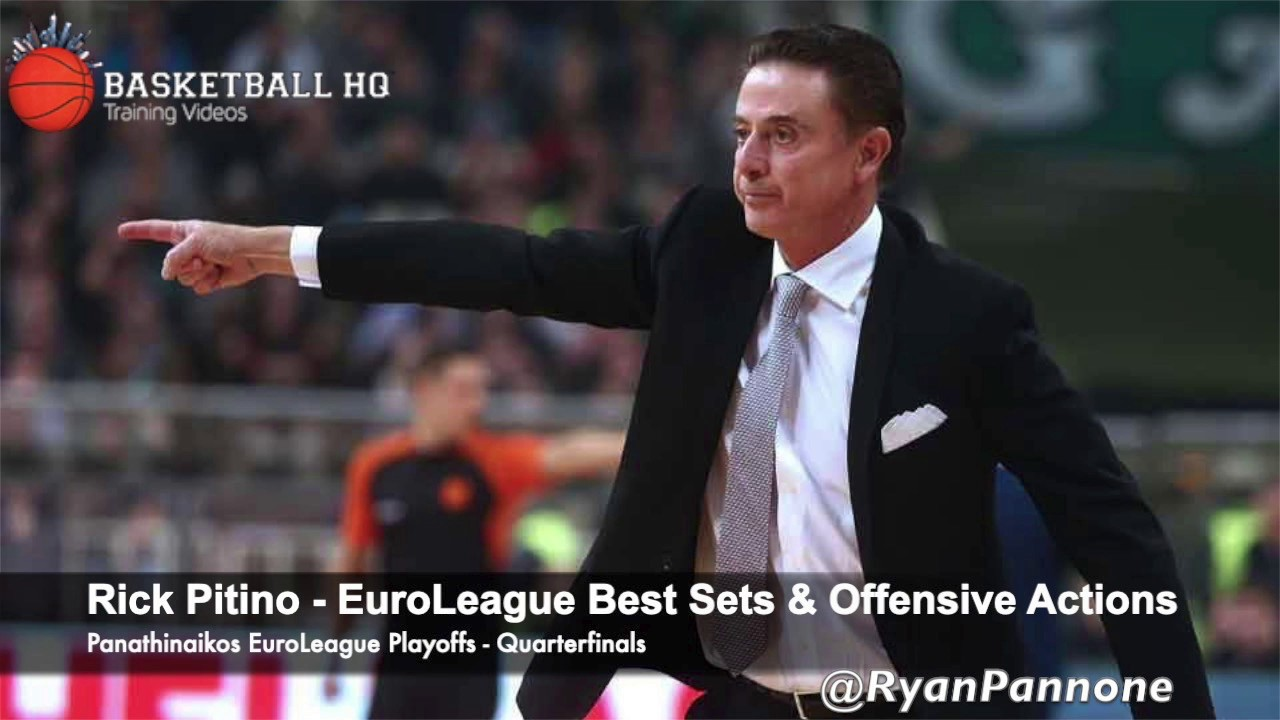 Rick Pitino Best Sets & Plays Panathinaikos 2019 Euroleague Quarterfinals
